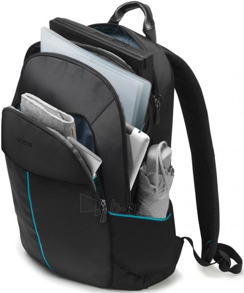 Kuprinė Dicota Backpack Trade 14-15.6 black Paveikslėlis 2 iš 7 310820013510