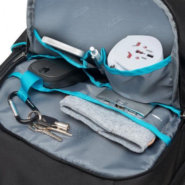 Kuprinė Dicota Backpack Trade 14-15.6 black Paveikslėlis 3 iš 7 310820013510