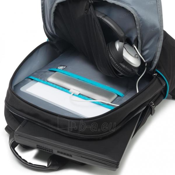 Kuprinė Dicota Backpack Trade 14-15.6 black Paveikslėlis 4 iš 7 310820013510