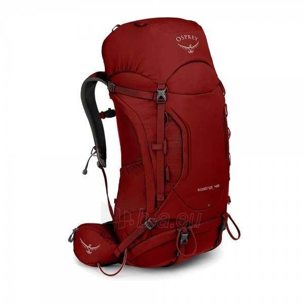 Kuprinė Kestrel 48 Raudona, M/L dydžio nugaros sistema Paveikslėlis 1 iš 9 310820229700