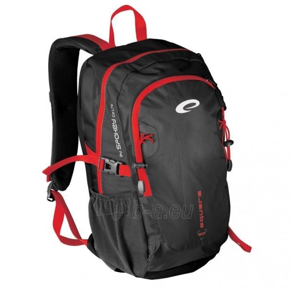 Kuprinė Spokey SQUARE 20 Black/red Paveikslėlis 1 iš 4 250530500325