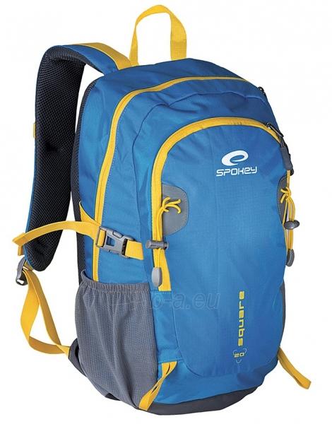 Kuprinė Spokey SQUARE 20 Blue/yellow Paveikslėlis 1 iš 4 250530500326