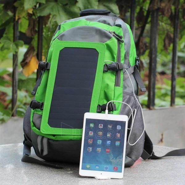 Kuprinė su saulės baterija SUNEN SBS12 USB 6,5 W Paveikslėlis 1 iš 1 251530500164