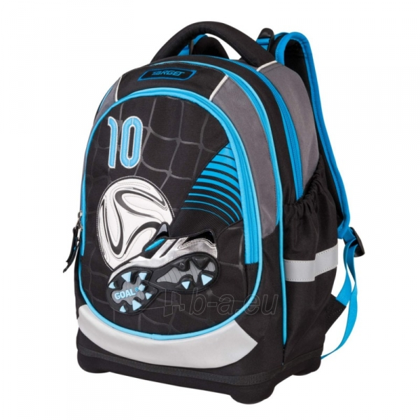 Kuprinė SUPERLIGHT PETIT FOOTBALL BLUE Paveikslėlis 1 iš 4 310820143288