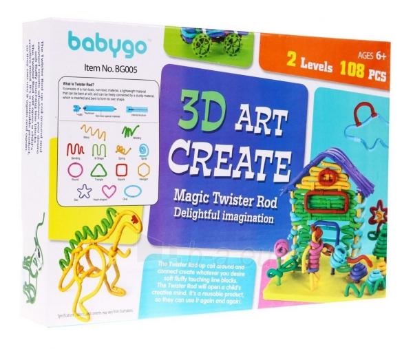 """Kūrybinis žaidimas """"3D Figūros"""" Paveikslėlis 4 iš 4 310820252684"""