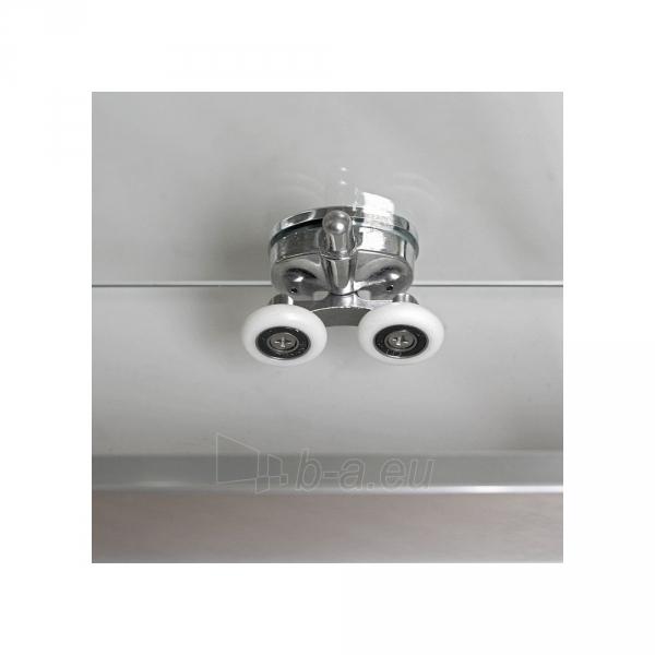 Kvadratinė shower LLS2 800 su 2 el. slankiojančiomis durimis, glass trans., prof. brillant Paveikslėlis 2 iš 3 310820165692
