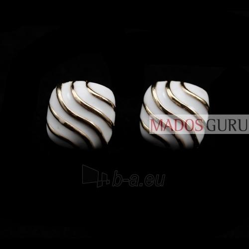 Square earrings A111 Paveikslėlis 1 iš 1 30070000034