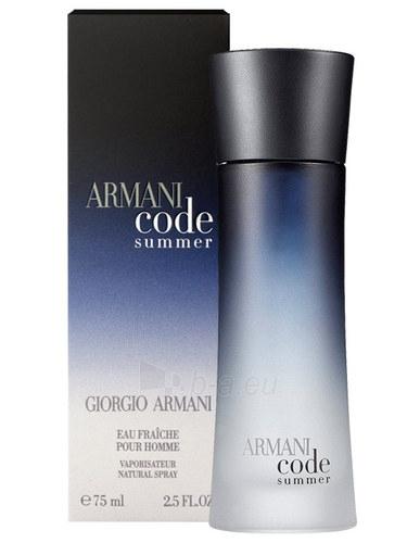 Kvapusis vanduo Giorgio Armani Code Summer 2010 Eau de Fraiche 75ml. Paveikslėlis 1 iš 1 250812000895