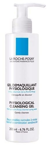 La Roche-Posay Physiological Cleansing Gel Cosmetic 200ml Paveikslėlis 1 iš 1 250840700240