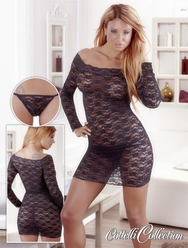 Lace mini dress Paveikslėlis 1 iš 1 25140807000322
