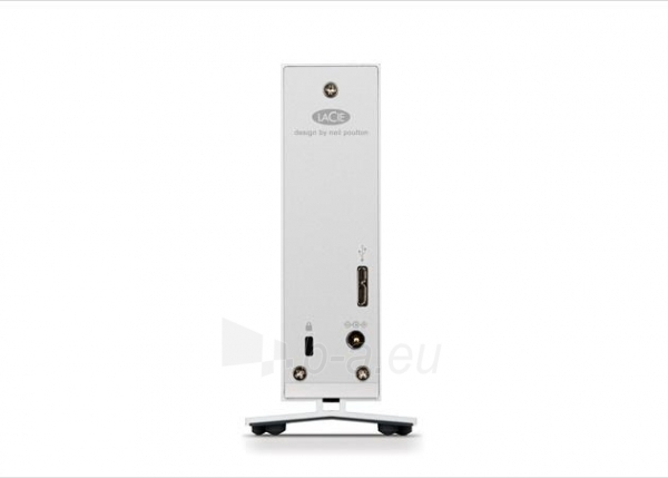 LaCie d2 4TB, USB 3.0, 7200RPM, Aluminum, External Paveikslėlis 2 iš 3 250255521776