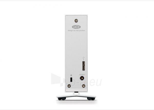 LaCie d2 5TB, USB 3.0, 7200RPM, Aluminum, External Paveikslėlis 2 iš 3 250255521777