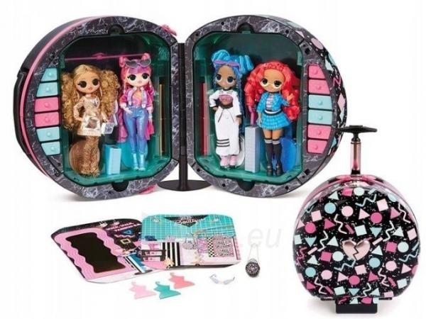 Lagaminas 571315 LOL Surprise OMG Fashion Closet On-The-Go Чемодан для путешествий Paveikslėlis 3 iš 6 310820252887
