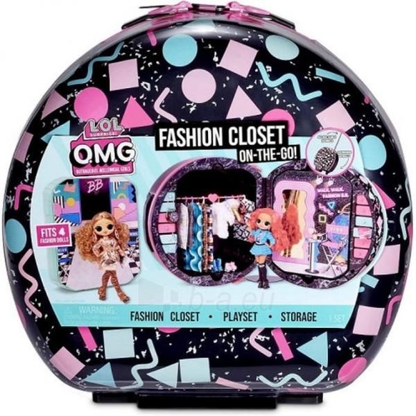 Lagaminas 571315 LOL Surprise OMG Fashion Closet On-The-Go Чемодан для путешествий Paveikslėlis 4 iš 6 310820252887