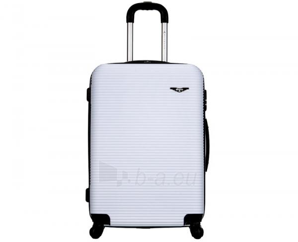 Lagaminas Azure Cestovní kufr SIROCCO 105L T-1039/3-70 bílá null Paveikslėlis 9 iš 10 250530500329