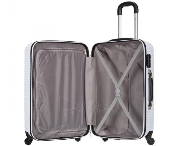 Lagaminas Azure Cestovní kufr SIROCCO 105L T-1039/3-70 bílá null Paveikslėlis 2 iš 10 250530500329