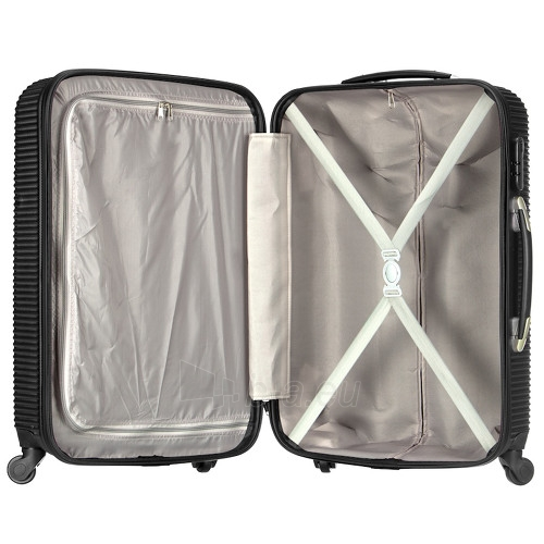 Lagaminas Azure Cestovní kufr SIROCCO 105L T-1039/3-70 černá null Paveikslėlis 2 iš 10 250530500330