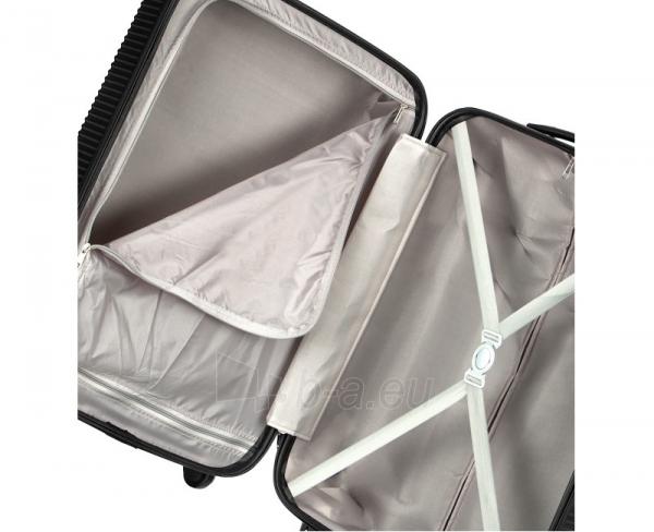 Lagaminas Azure Cestovní kufr SIROCCO 105L T-1039/3-70 černá null Paveikslėlis 10 iš 10 250530500330