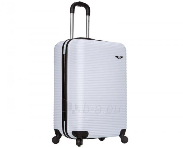 Lagaminas Azure Cestovní kufr SIROCCO 40L T-1039/3-50 bílá null Paveikslėlis 1 iš 9 250530500328