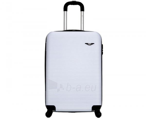 Lagaminas Azure Cestovní kufr SIROCCO 40L T-1039/3-50 bílá null Paveikslėlis 2 iš 9 250530500328