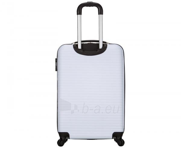 Lagaminas Azure Cestovní kufr SIROCCO 40L T-1039/3-50 bílá null Paveikslėlis 3 iš 9 250530500328