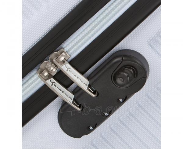Lagaminas Azure Cestovní kufr SIROCCO 40L T-1039/3-50 bílá null Paveikslėlis 4 iš 9 250530500328