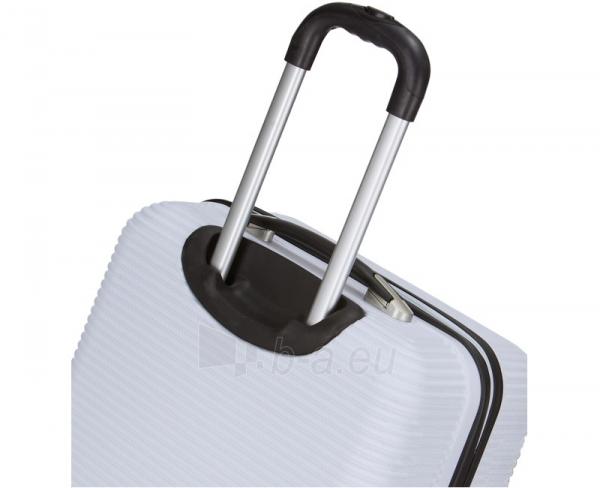 Lagaminas Azure Cestovní kufr SIROCCO 40L T-1039/3-50 bílá null Paveikslėlis 5 iš 9 250530500328