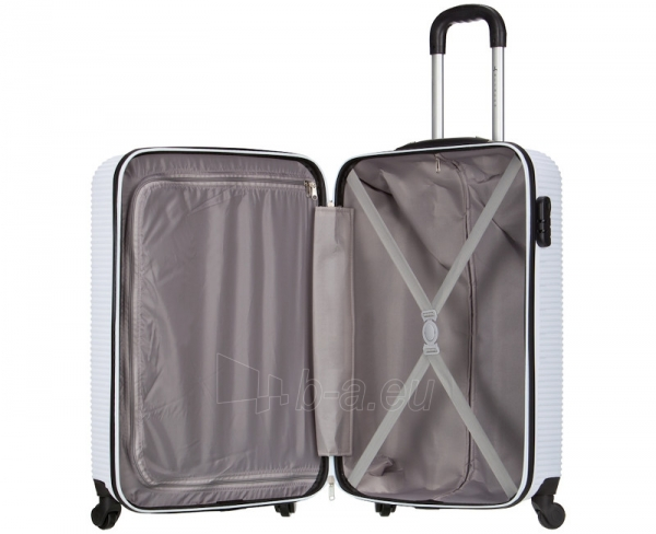 Lagaminas Azure Cestovní kufr SIROCCO 40L T-1039/3-50 bílá null Paveikslėlis 8 iš 9 250530500328