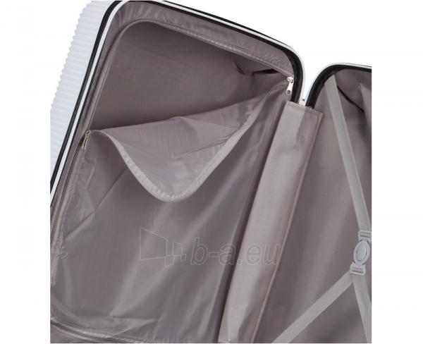 Lagaminas Azure Cestovní kufr SIROCCO 40L T-1039/3-50 bílá null Paveikslėlis 9 iš 9 250530500328