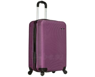 Lagaminas Azure Cestovní kufr SIROCCO 40L T-1039/3-50 fialová null Paveikslėlis 1 iš 9 250530500331