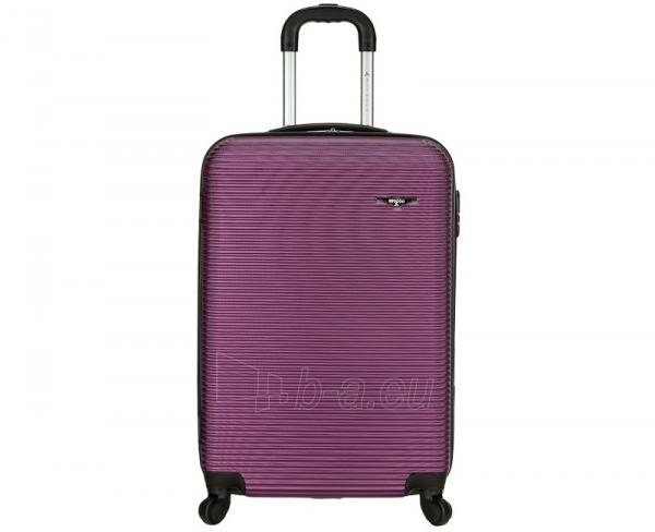 Lagaminas Azure Cestovní kufr SIROCCO 40L T-1039/3-50 fialová null Paveikslėlis 2 iš 9 250530500331