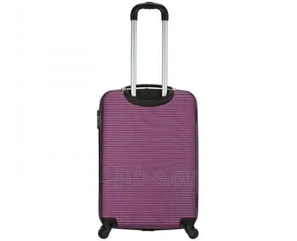 Lagaminas Azure Cestovní kufr SIROCCO 40L T-1039/3-50 fialová null Paveikslėlis 3 iš 9 250530500331
