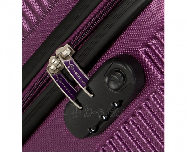 Lagaminas Azure Cestovní kufr SIROCCO 40L T-1039/3-50 fialová null Paveikslėlis 4 iš 9 250530500331