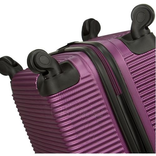 Lagaminas Azure Cestovní kufr SIROCCO 40L T-1039/3-50 fialová null Paveikslėlis 7 iš 9 250530500331