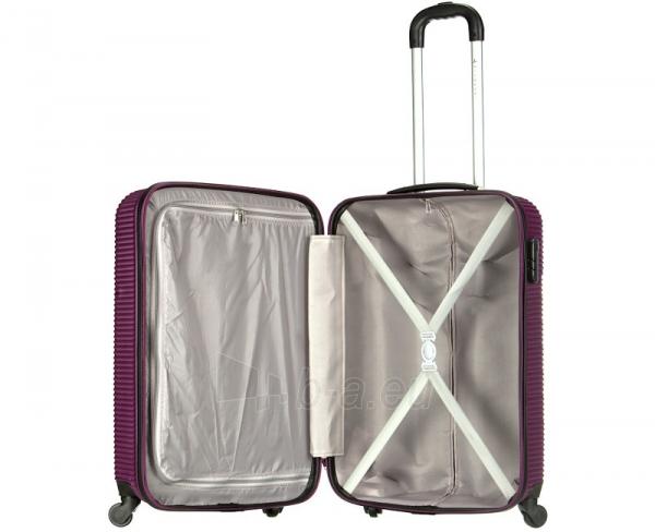 Lagaminas Azure Cestovní kufr SIROCCO 40L T-1039/3-50 fialová null Paveikslėlis 8 iš 9 250530500331