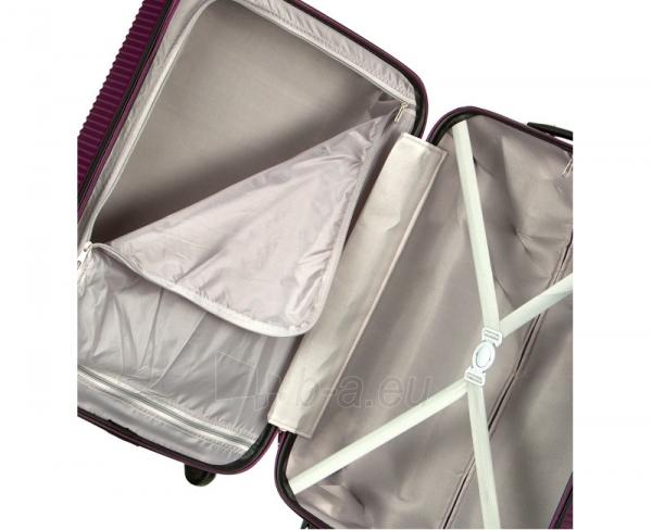 Lagaminas Azure Cestovní kufr SIROCCO 40L T-1039/3-50 fialová null Paveikslėlis 9 iš 9 250530500331