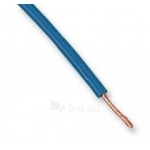 Laidas PV3 1,0mm2, varinis lankstus mėlynas (H05V-K) Paveikslėlis 1 iš 1 222821000050