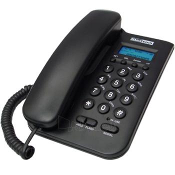 Laidinis telefonas MaxCom KXT100 juodas Paveikslėlis 1 iš 1 250234000051