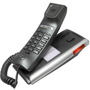 Bevielis telefonas MaxCom KXT400 Clip laidinis telefono aparatas, redial Paveikslėlis 1 iš 1 250234000054