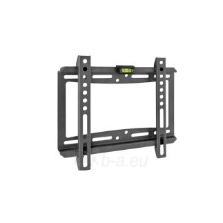 Laikiklis BARKAN E202.B 37 LCD, fiksuotas, sieninis, juodas Paveikslėlis 1 iš 3 310820010942