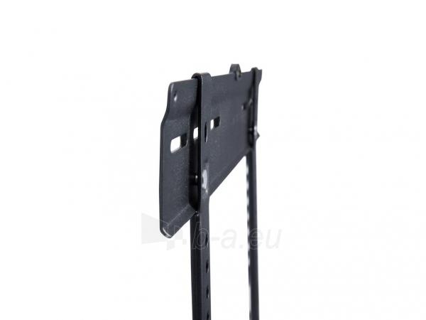 Equip LCD wall bracket 81-140cm(32-55)fixed max 50kg VESA max 400x400 slim black Paveikslėlis 2 iš 3 250226200564