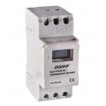 Laiko rėlė (laikmatis) elektroninis, su LCD, 230VAC/50Hz, IP20, max 3680W/16A, ORNO, OR-PRE-414 Paveikslėlis 1 iš 1 310820054869