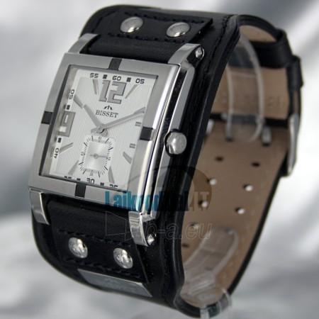 Laikrodis BISSET Kerberos BS25C02 LS WH BK Paveikslėlis 1 iš 6 30100800671