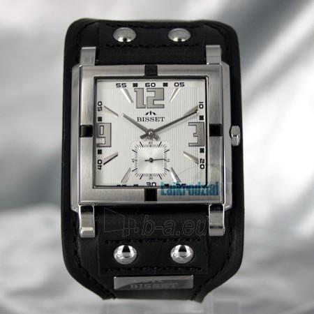 Laikrodis BISSET Kerberos BS25C02 LS WH BK Paveikslėlis 2 iš 6 30100800671