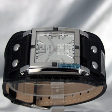 Laikrodis BISSET Kerberos BS25C02 LS WH BK Paveikslėlis 3 iš 6 30100800671