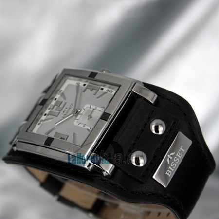 Laikrodis BISSET Kerberos BS25C02 LS WH BK Paveikslėlis 5 iš 6 30100800671