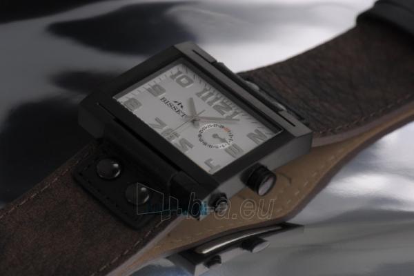 Laikrodis BISSET Tramelan BS25B51 MB WH BR Paveikslėlis 1 iš 1 30100800673