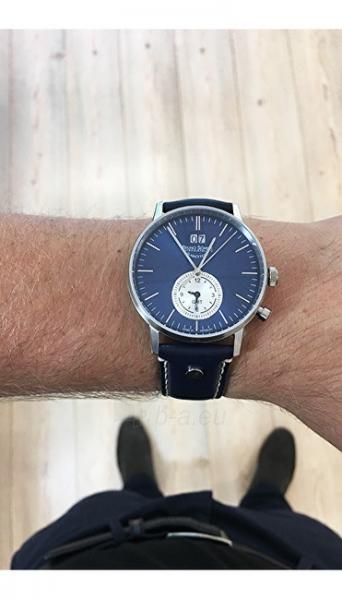 Laikrodis Bruno Söhnle Stuttgard GMT 17-13180-741 Paveikslėlis 2 iš 6 310820112088