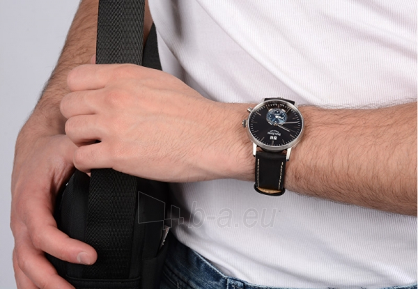 Laikrodis Bruno Söhnle Stuttgard GMT 17-13180-741 Paveikslėlis 5 iš 6 310820112088