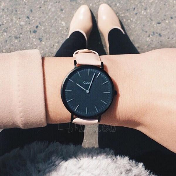 Laikrodis Cluse La Bohème Black Black/Nude Paveikslėlis 3 iš 5 310820112983